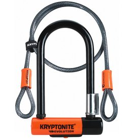 Kryptonite New-U Evolution Mini-7 Lock W/ Cable