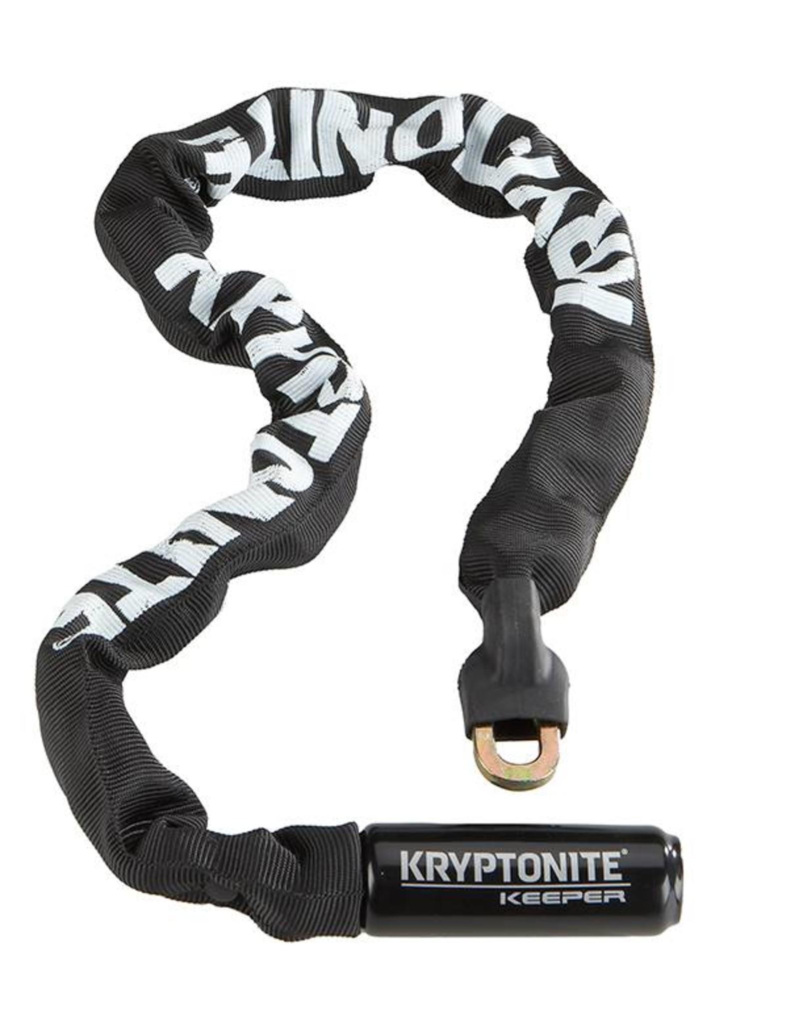 Kryptonite Keeper 785 Integrated Chain Lock - Black