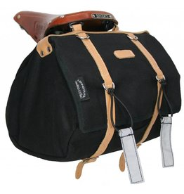 Banjo Brothers Minnehaha Series Medium Saddle Bag - Black