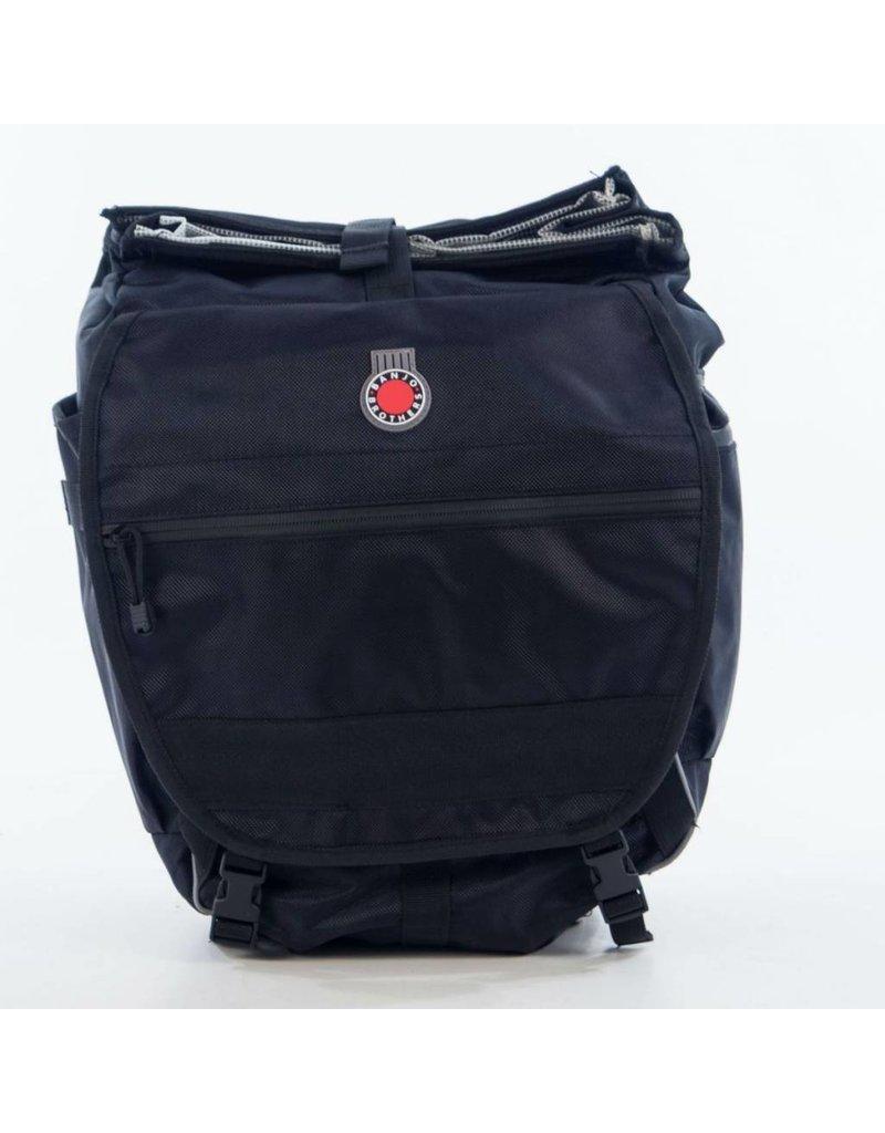 Banjo Brothers Waterproof Backpack Pannier - Black