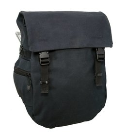 Banjo Brothers Minnehaha Series Waterproof Canvas Pannier - Black