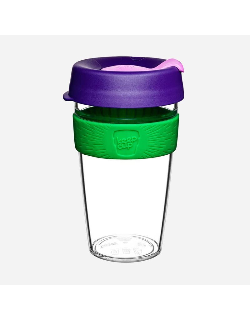 KeepCup KeepCup Original Clear Plastic Travel Mug