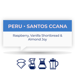 Quietly Cofffee QUIETLY COFFEE - PERU SANTOS CCANA 250g
