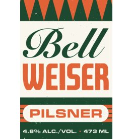 Bellwoods Brewery BELLWOODS BELLWEISER Pilsner - 473ml Can