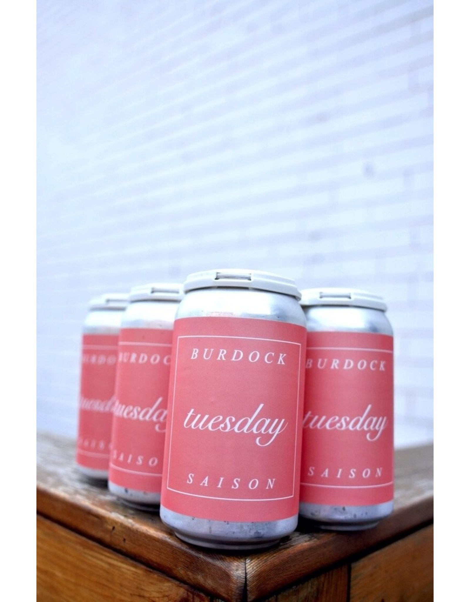Burdock Brewery BURDOCK TUESDAY SAISON - 355ml Can