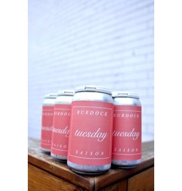 Burdock Brewery BURDOCK TUESDAY SAISON - 355ml Can