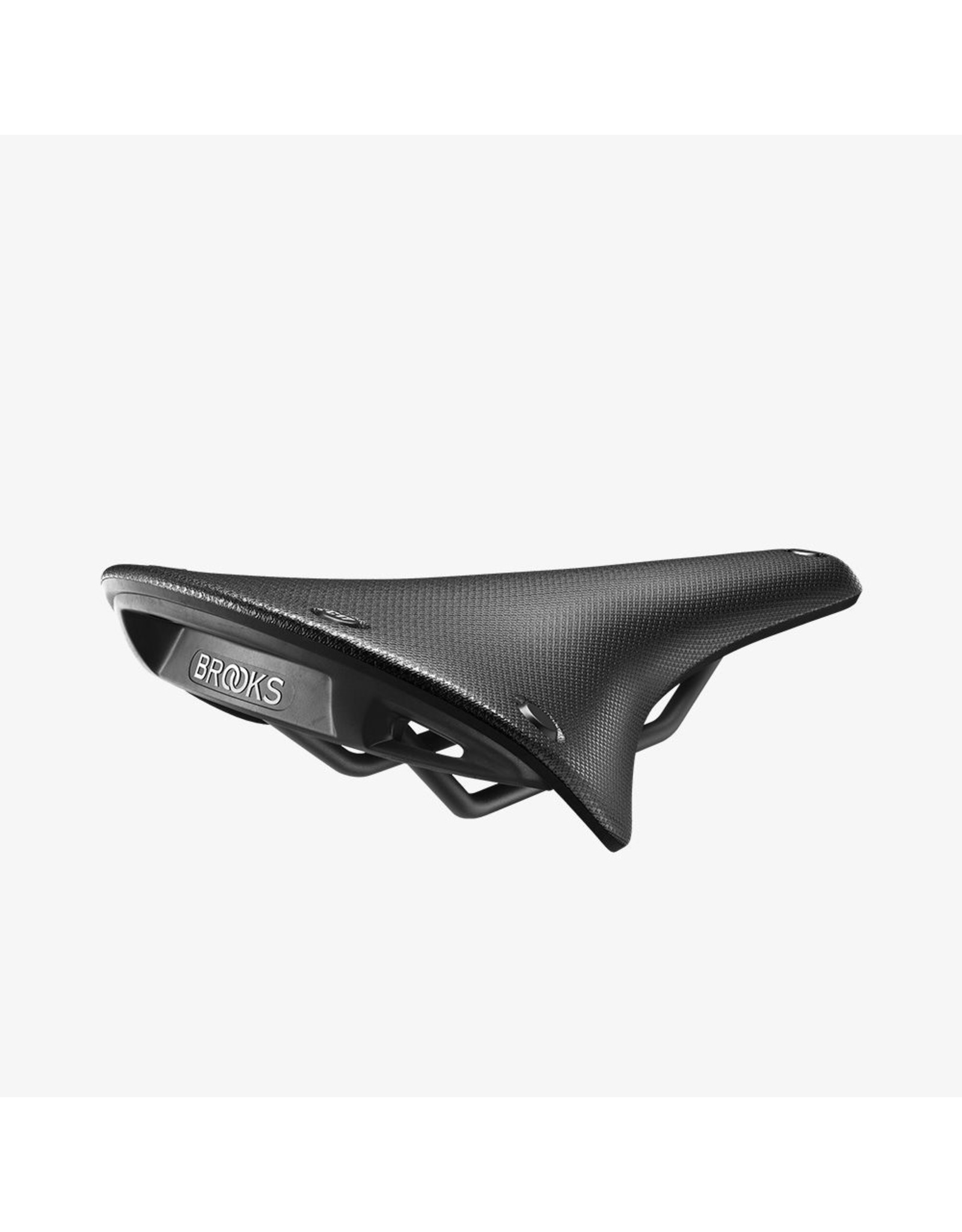 Brooks, C17 Cambium Carved, Saddle, 283 x 162mm, Men, 400g, Black