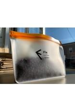 Fix Coffee+Bikes Fix Coffee + Bikes Reusable Zip Lock Bags - 2-Pack (Small and Medium)