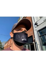 Fix Coffee+Bikes Fix Coffee + Bikes Mask (black 3D)
