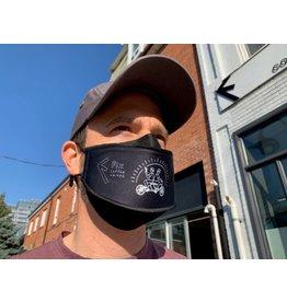 Fix Coffee+Bikes Fix Coffee + Bikes Mask (black 3D)