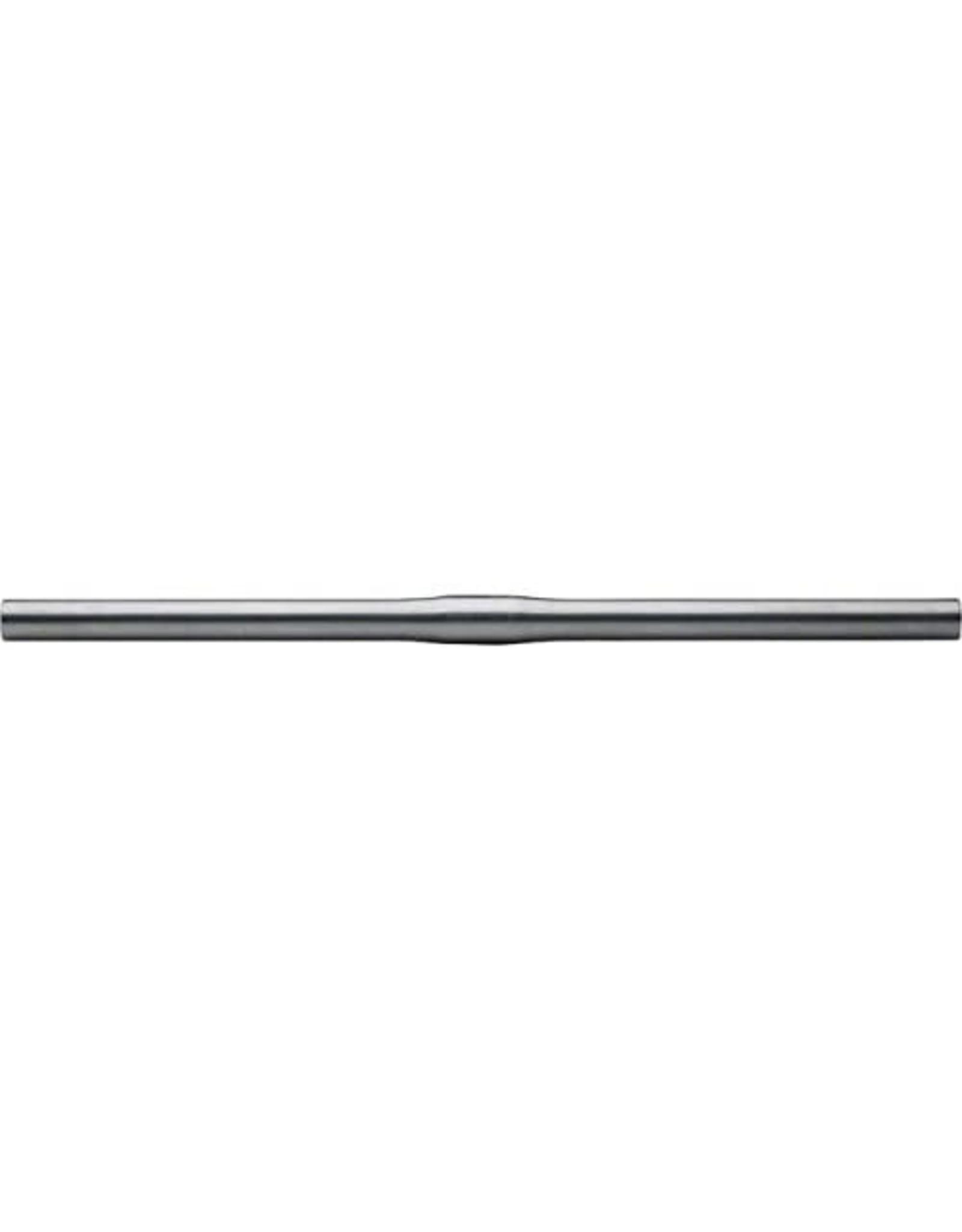 Nitto B2500 Straight Handlebar: 25.4mm/Silver