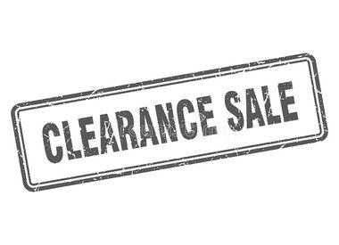CLEARANCE / SALE