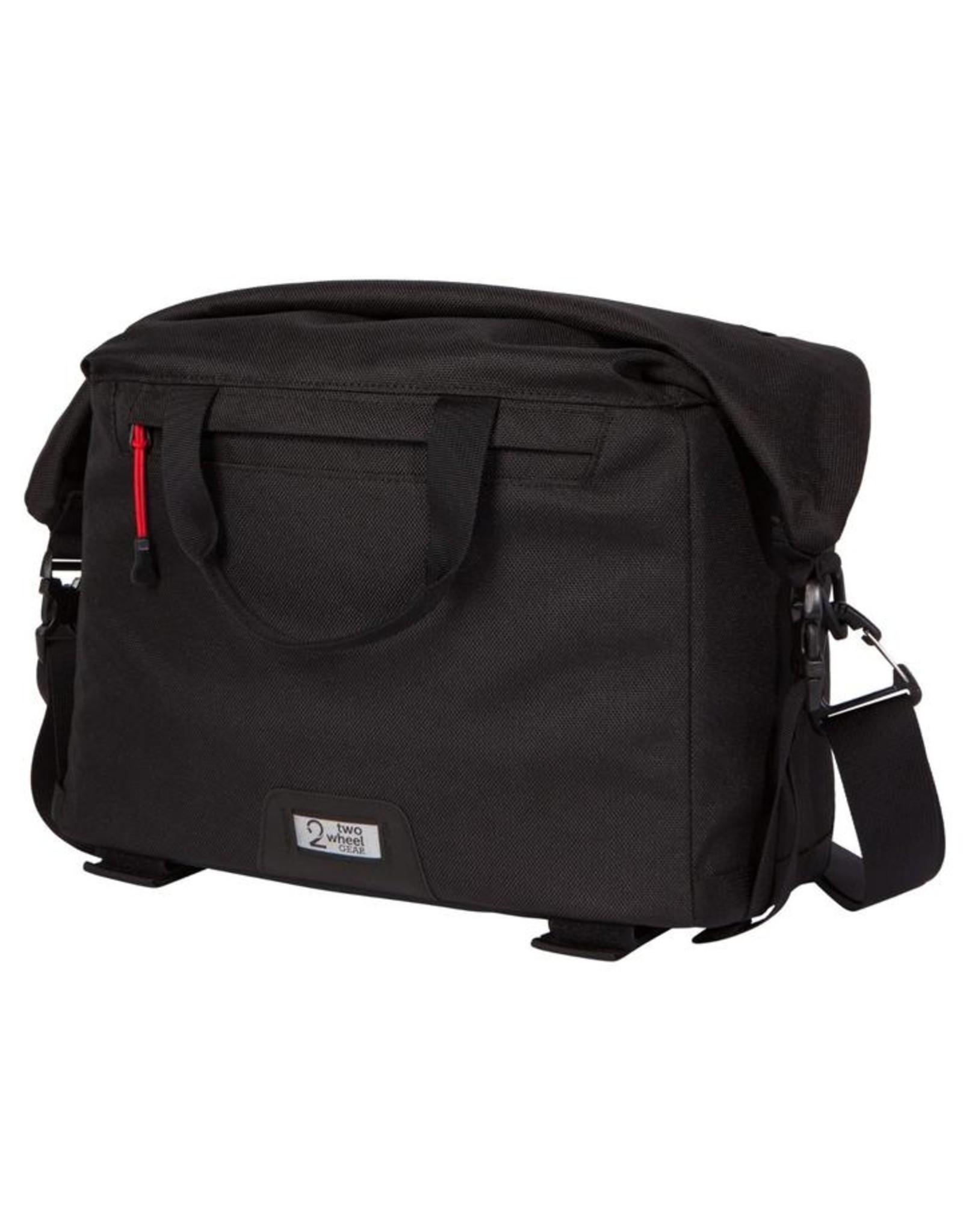 Two Wheel Gear Two Wheels Gear Dayliner Box Bag Black