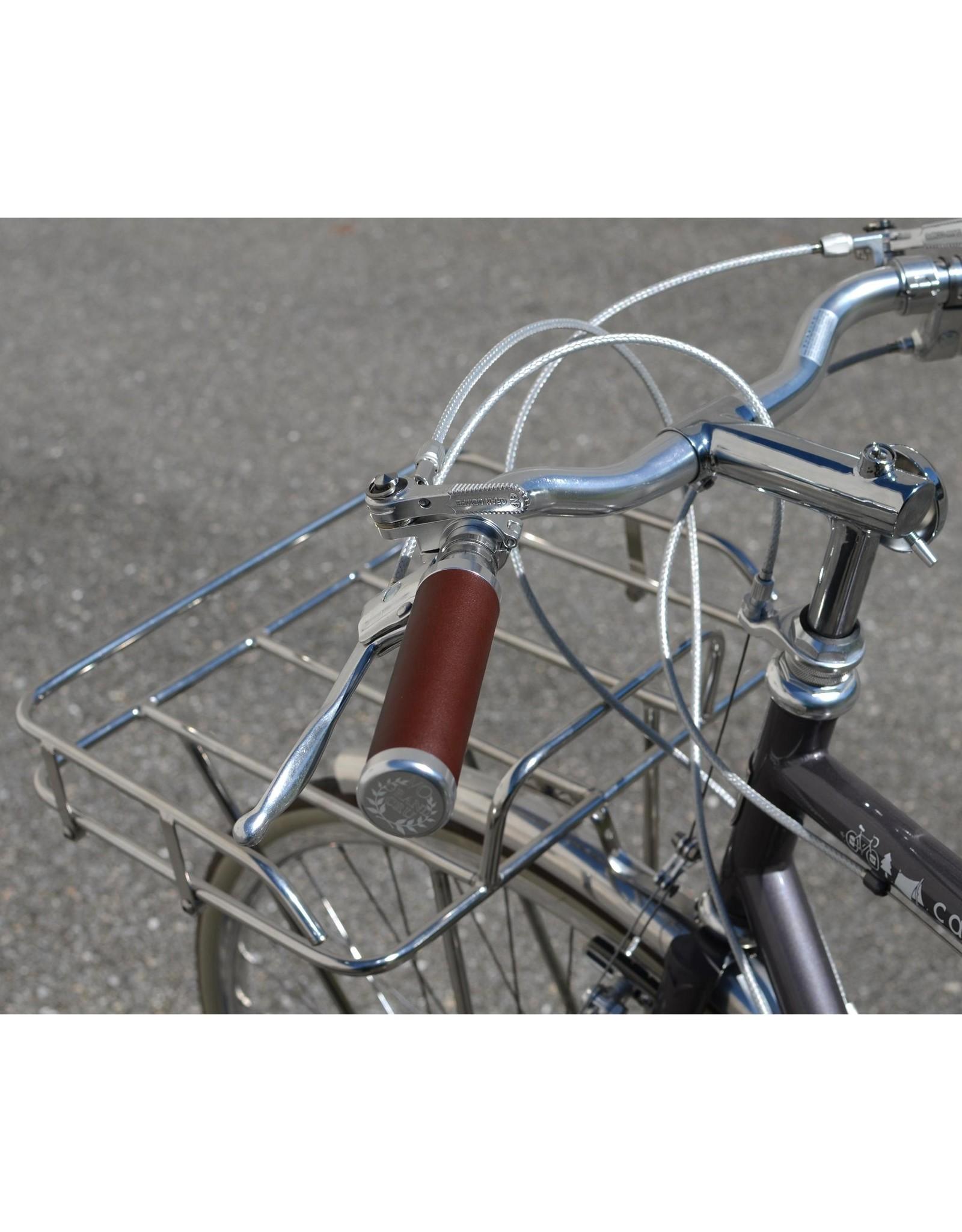 Velo Orange Lock-on Leather Grips