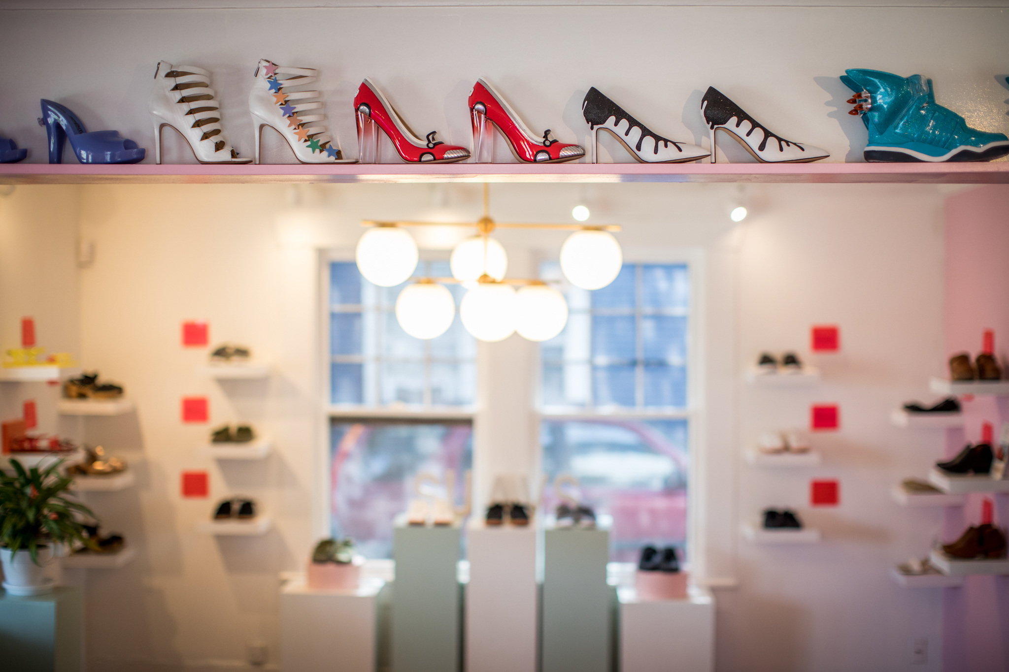 Art of Shoes Interior