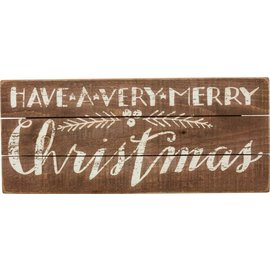 Primitives by Kathy Slat Sign - Very Merry