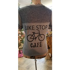 BSC BSC Retro Katy Trail Pedal & Chain Ring T-Shirt 2018 Grey MD