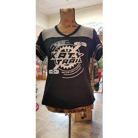BSC Retro Katy Trail Pedal & Chain Ring T-Shirt 2018 Black XXL