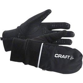 Craft Craft Hybrid Weather Glove: Black MD