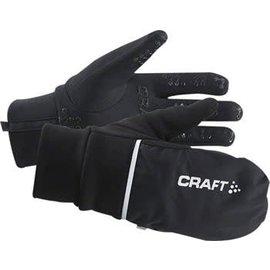 Craft Craft Hybrid Weather Glove: Black LG