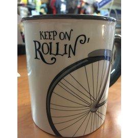 Ganz Keep On Rollin' Mug