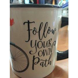 Ganz Follow Your Own Path Mug