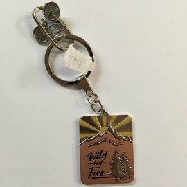 Ganz Wild and Free Key Chain