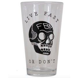 FBM FBM Live Fast Pint Glass