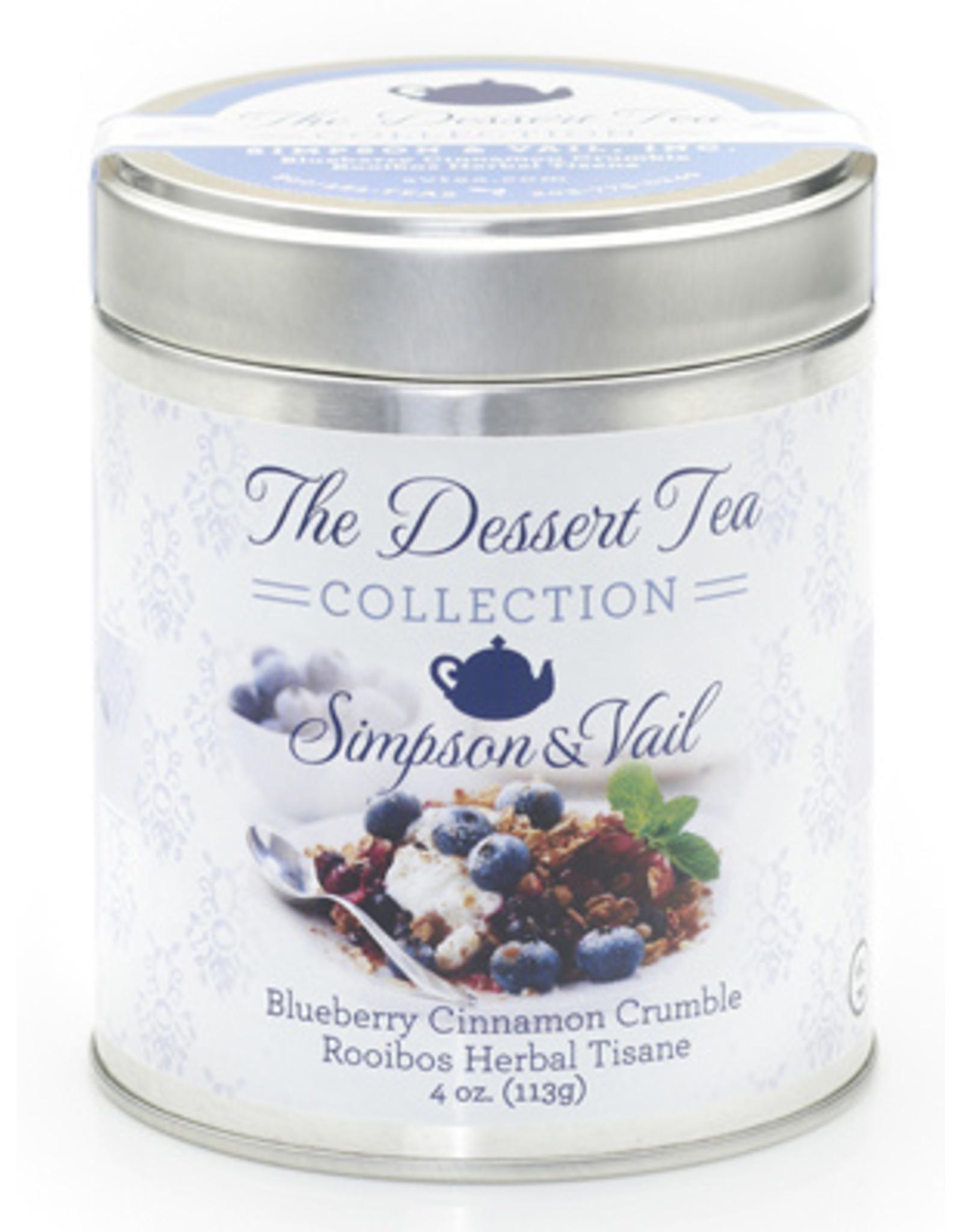 Simpson & Vail Blueberry Cinnamon Crumble Rooibos