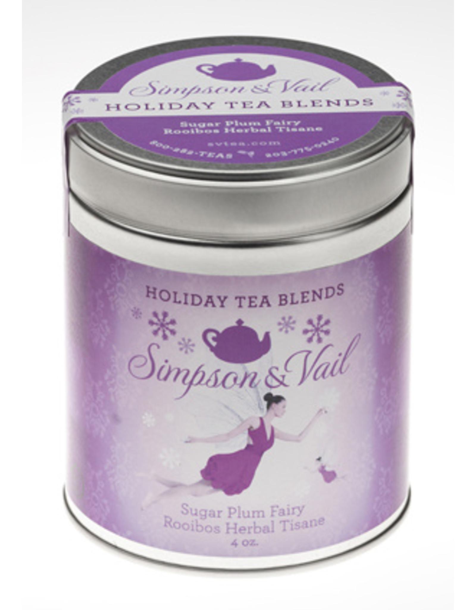 Simpson & Vail Sugar Plum Fairy - Rooibos Herbal Tea
