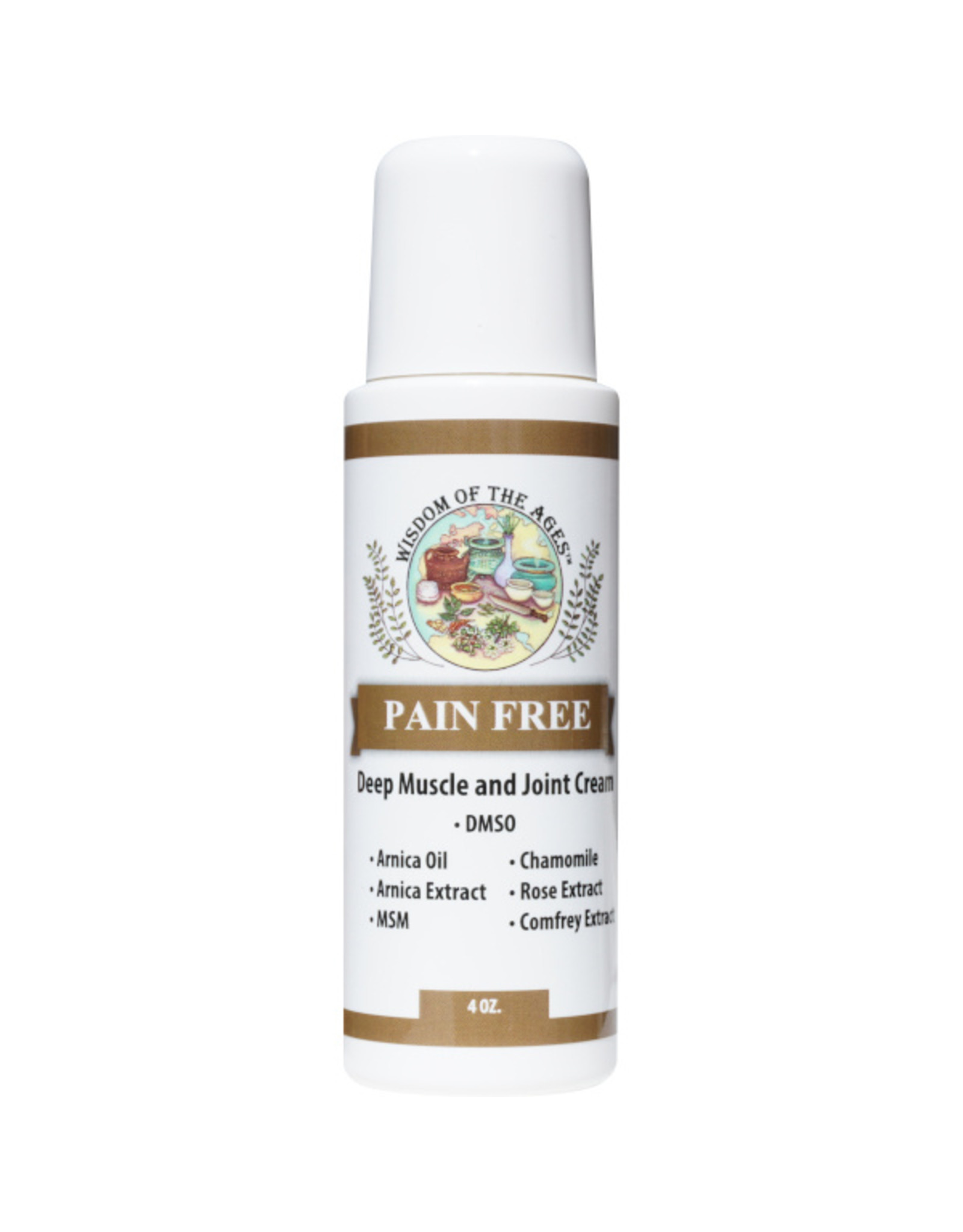 Wisdom of the Ages Pain Free Deep Muscle & Joint Pain Cream