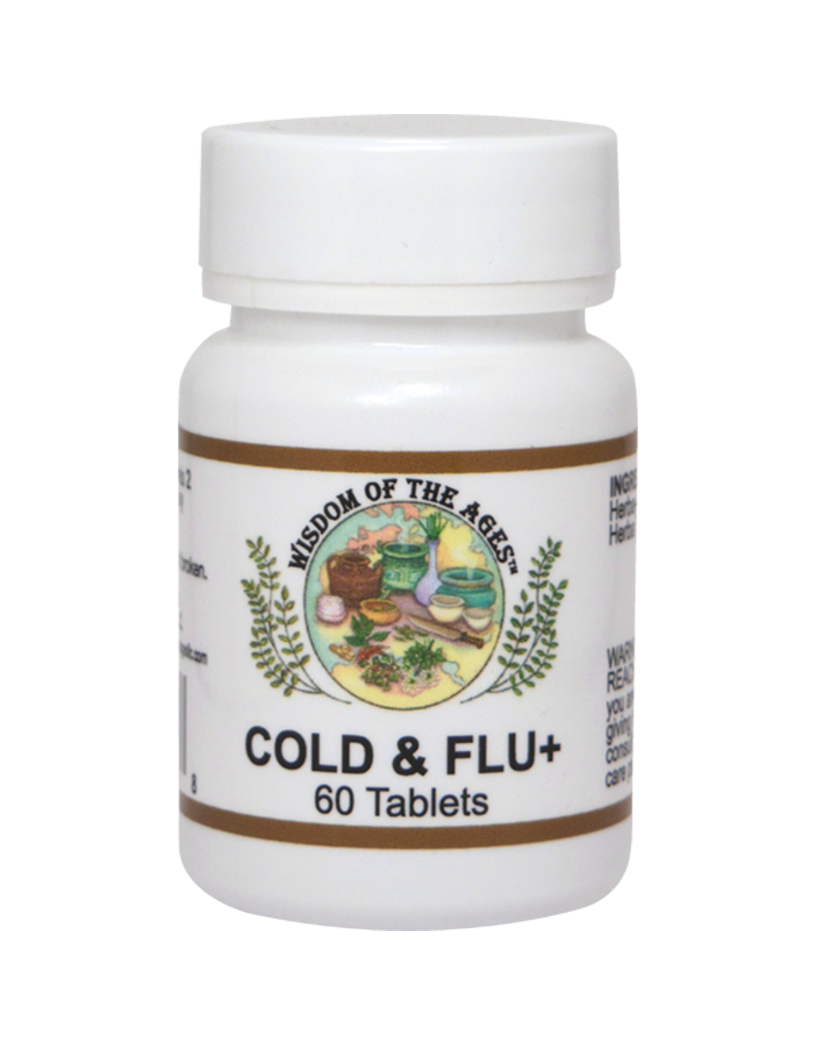 Wisdom of the Ages Cold & Flu Capsules - Dietary Supplement