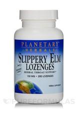 Planetary Herbals Slippery Elm Lozenges 150mg Tangerine