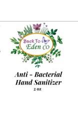 Back To Eden CO Hand Sanitizer Med  original scent 2.5 oz