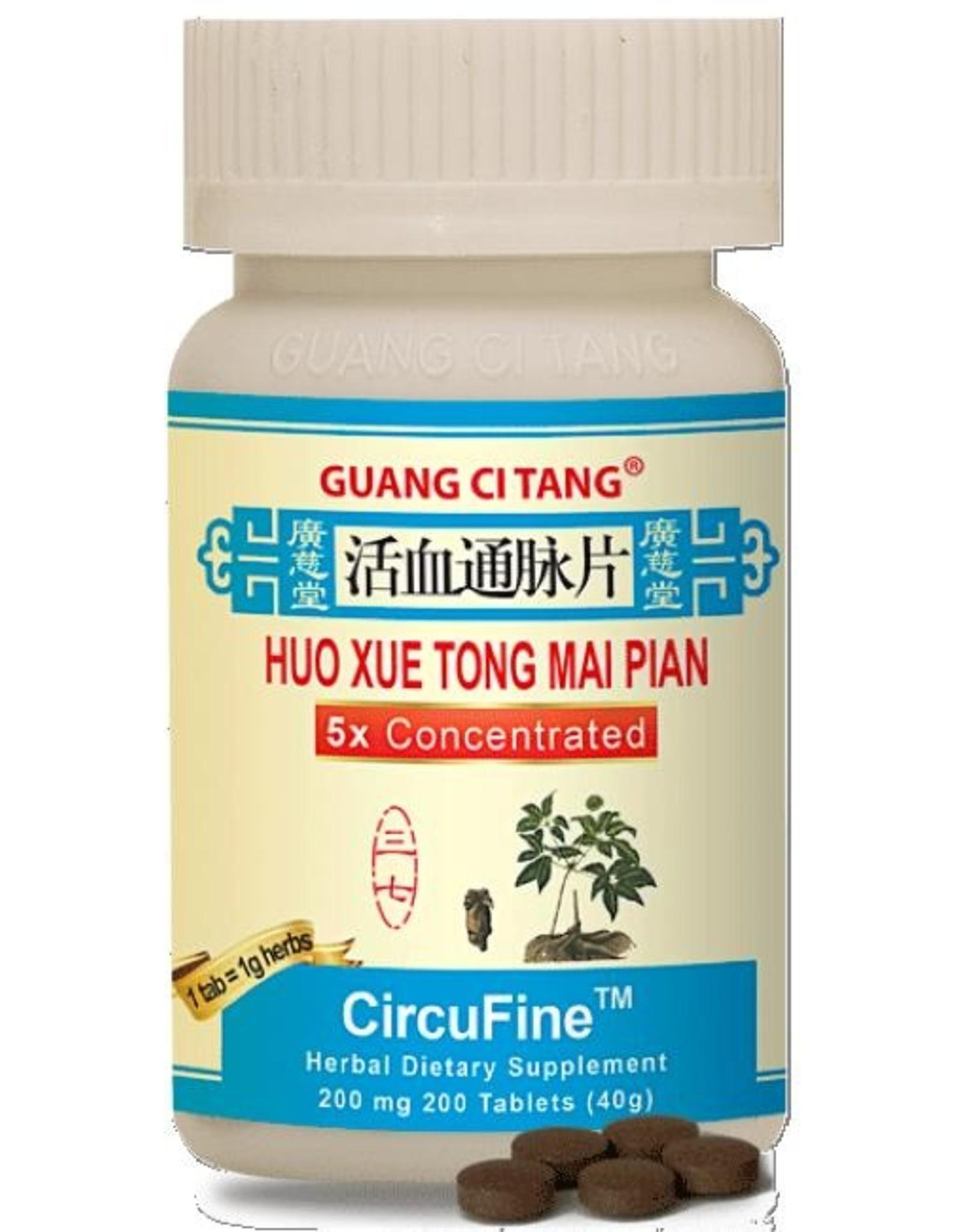 Guang Ci Tang Huo Xue Tong Mai Pian - CircuFine