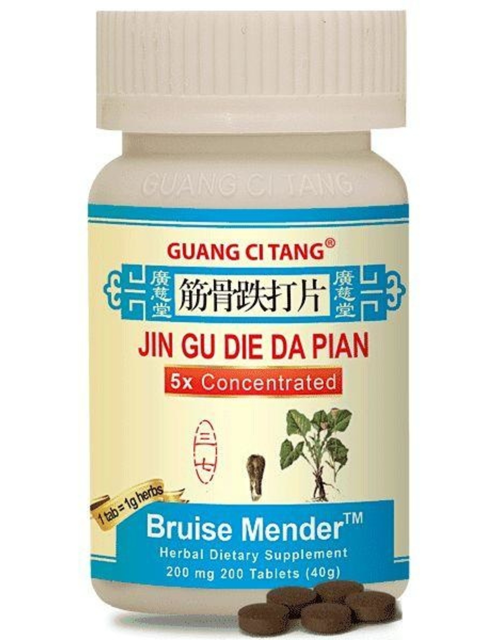 Guang Ci Tang jin Gu Die Da Pian- Bruise Mender