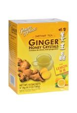 Prince Of Peace Ginger Honey Crystals (lemon) 10 sachets