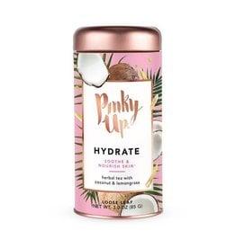Hydrate tea pinky up