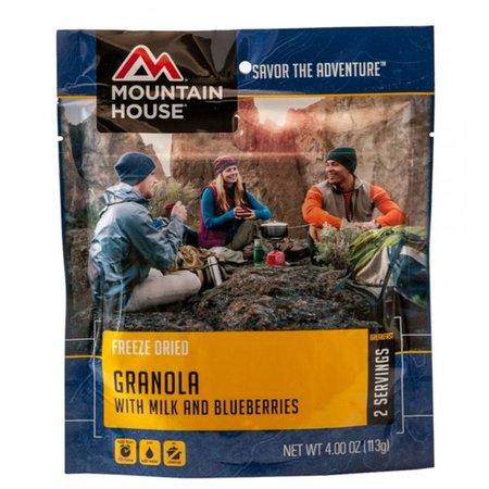 Mountain House Granola w/ Milk & Blueberries