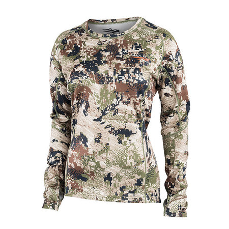 SITKA SITKA WOMENS CORE MID WT CREW LONG SLEEVE