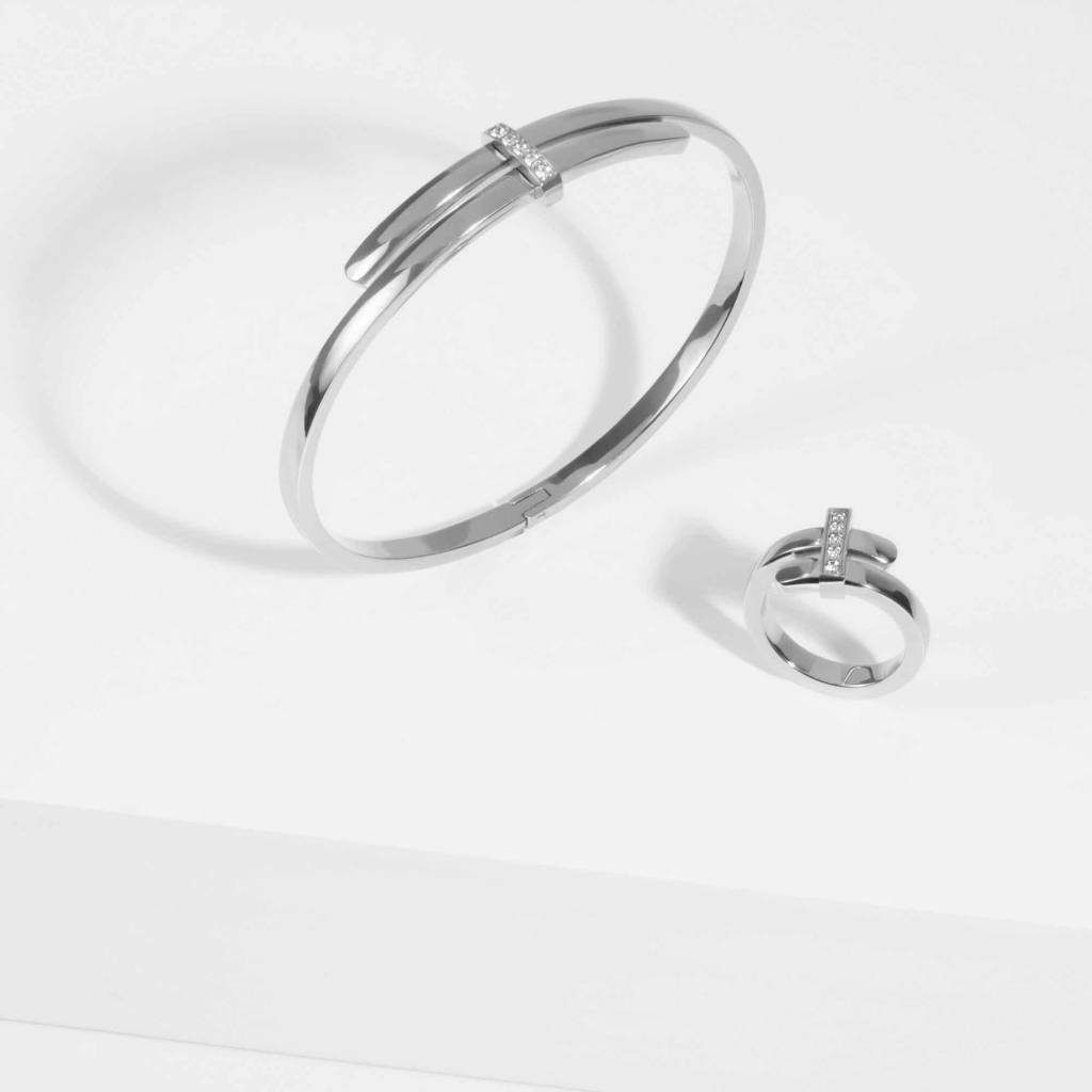 Bracelet - Acier Inox Argent-2