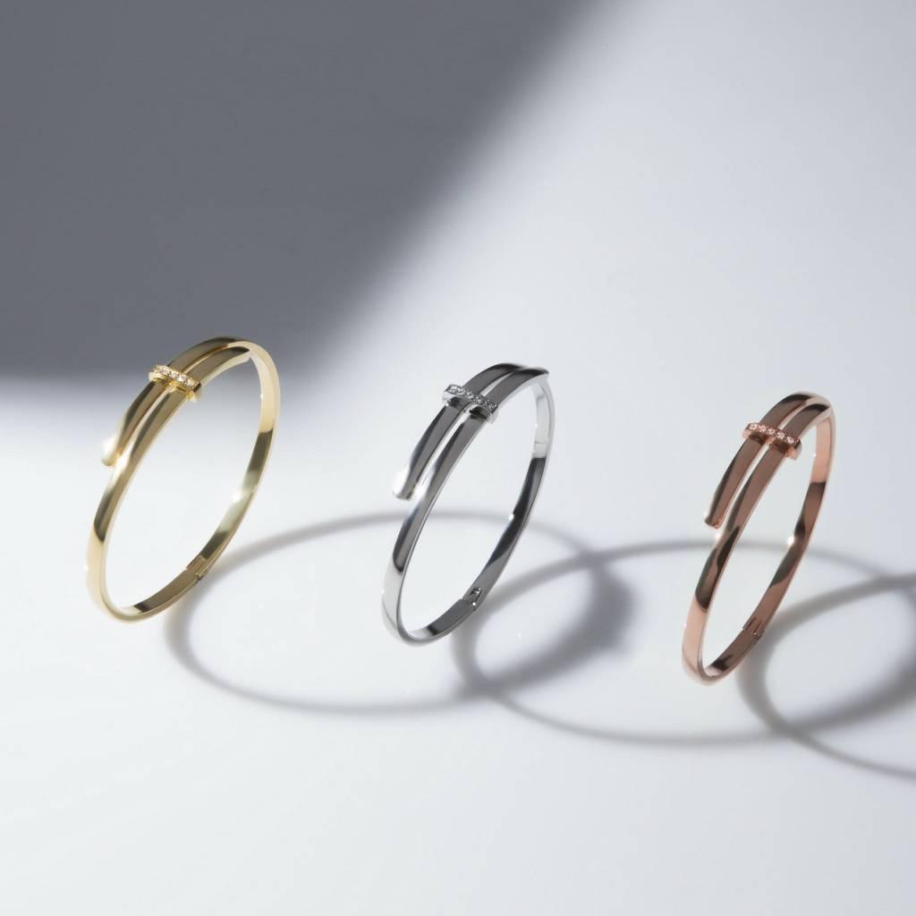 Bracelet - Acier Inox Argent-4