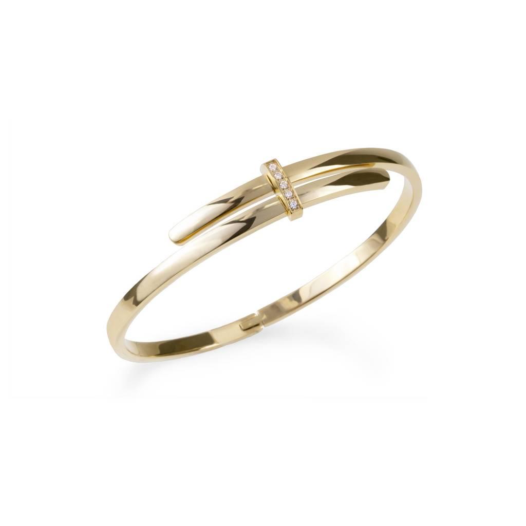 Bracelet - Acier Inox Doré-1