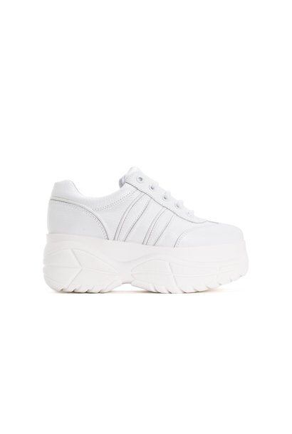Magic White Leather