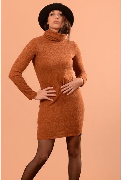 Lea rust knit
