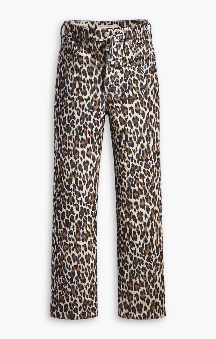 Ribcage Straight Ankle - Leopard-4