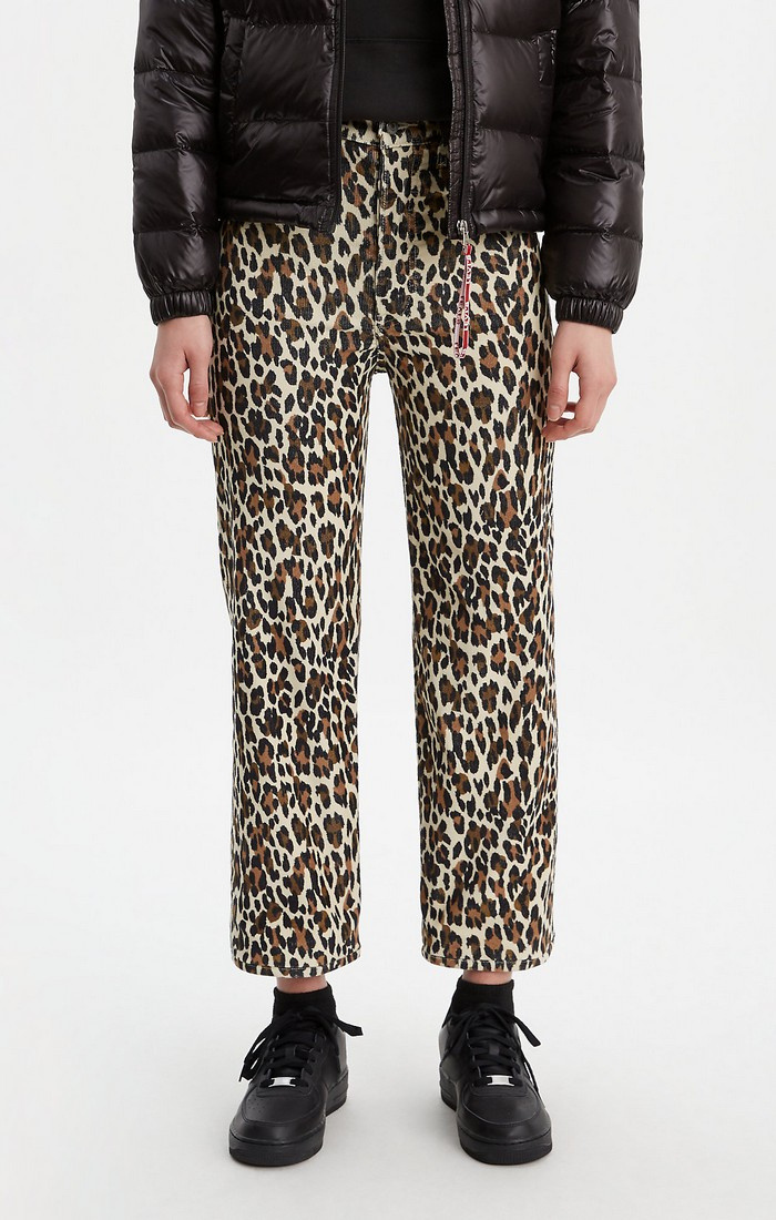 Ribcage Straight Ankle - Leopard-1