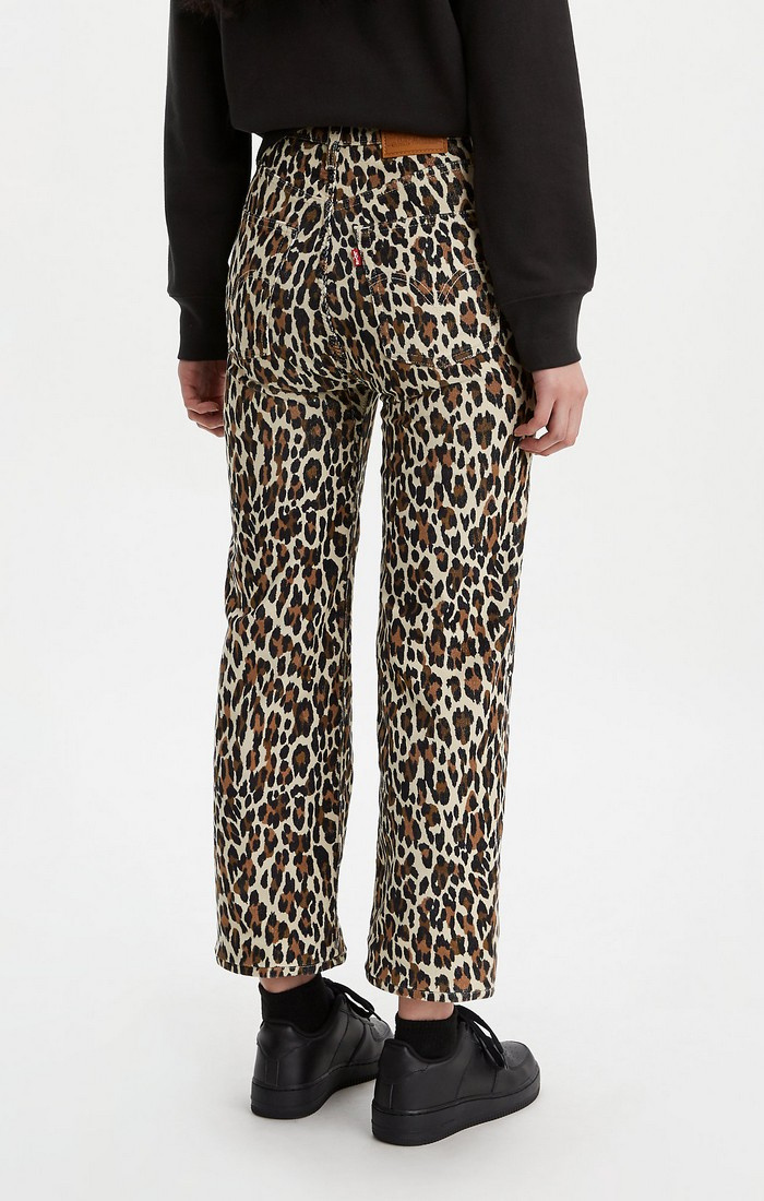 Ribcage Straight Ankle - Leopard-2