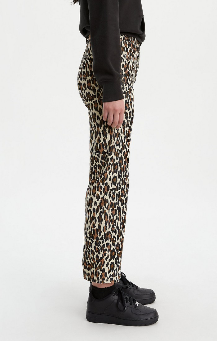 Ribcage Straight Ankle - Leopard-3