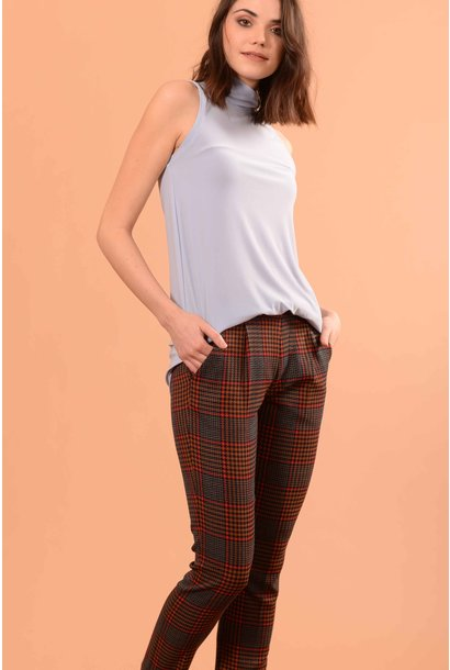 Matea Plaid Camel